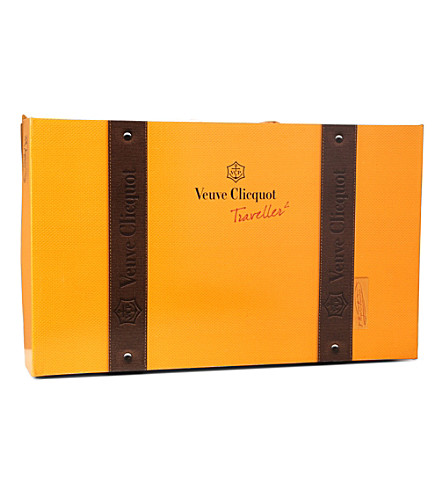 VEUVE CLICQUOT Traveller gift set 750ml