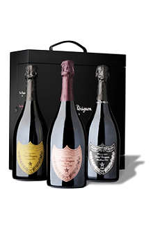 DOM PERIGNON Power Trio gift set 3 x 750ml