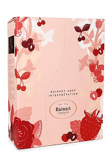 RUINART ROSE Brut Rosé Interpretation gift set 750ml