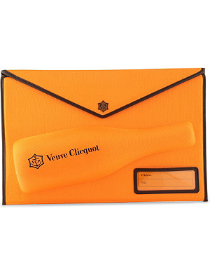 VEUVE CLICQUOT Yellow Label Brut clutch bag 750ml