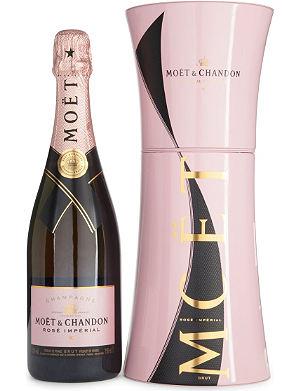 MOET ET CHANDON Unfurl the tie Rosé Impérial champagne 750ml