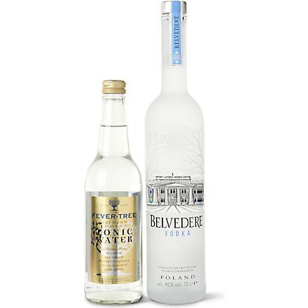 BELVEDERE Vodka and tonic gift set 700ml