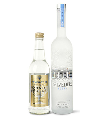 BELVEDERE Vodka and tonic gift set 700ml