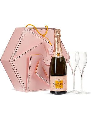 VEUVE CLICQUOT Rosé Couture Flute pack 750ml