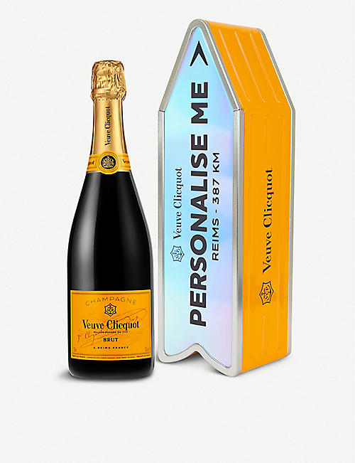 Unique food wine gifts foodhall selfridges veuve clicquot veuve clicquot brut personalisation tin 750ml negle Image collections