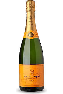 VEUVE CLICQUOT Brut NV with metal fridge 750ml