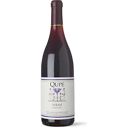 QUPE Central Coast Syrah 750ml