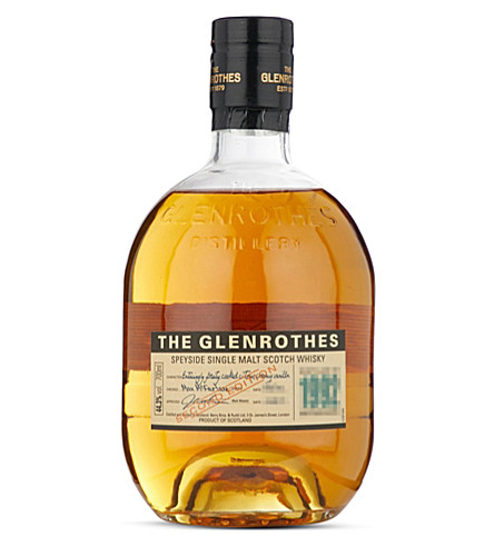 SPEYSIDE The Glenrothes 1992 Second Edition single malt scotch whisky 700ml