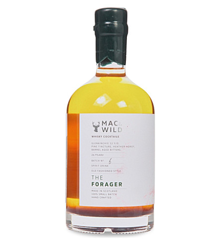 APERITIF & DIGESTIF Forager whisky cocktail 700ml