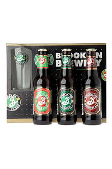 BROOKLYN BREWERY Beer gift set 3 x 355ml