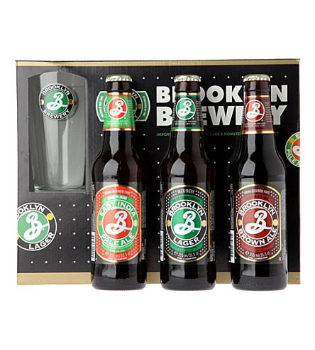 BROOKLYN Beer gift set 3 x 355ml