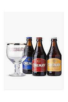CHIMAY Assorted bottle gift pack 3x330ml
