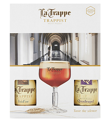 WORLD OTHER La Trappe Trappist four ale & glass gift pack 4 x 330ml