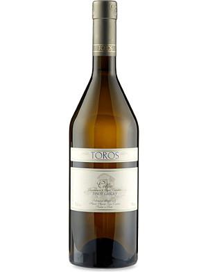 ITALY Franco Toros collio Pinot Grigio 2011 750ml