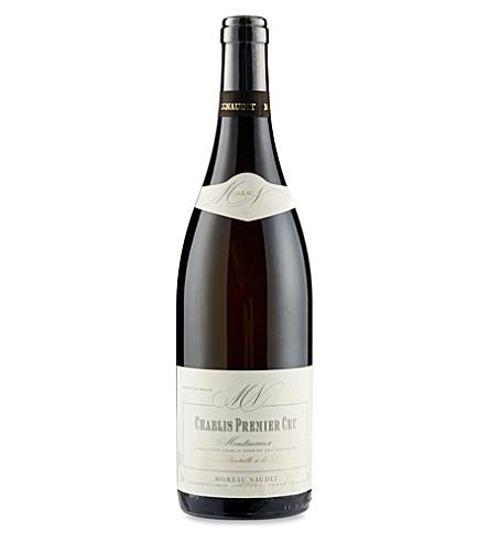 BURGUNDY Montmains Domaine Moreau-Naudet Chablis 2010 750ml