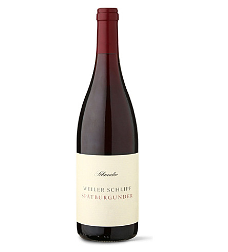 GERMANY Weiler Schlipf Spatburgunder 2010 750ml
