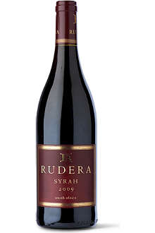 RUDERA Syrah 2009 750ml