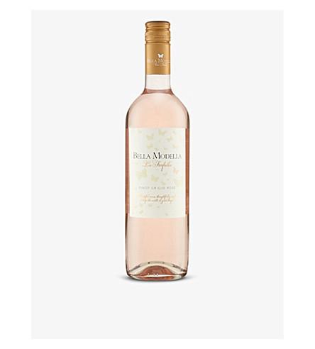 ITALY Bella Modella Pinot Grigio rosé 750ml