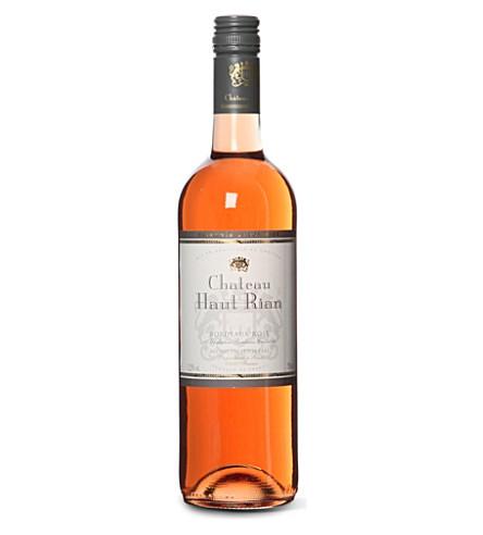 HAUT RIAN Bordeaux 桃红葡萄酒750毫升