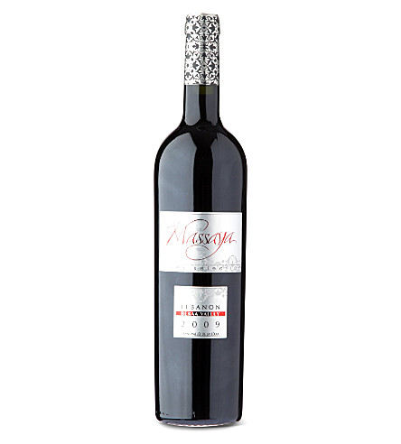 MASSAYA Silver Selection red wine 750ml