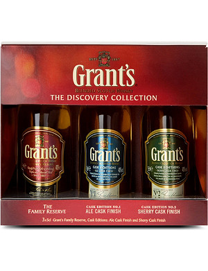 NONE The Discovery Collection blended Scotch whisky set 3 x 50ml