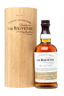 BALVENIE 40 year old single malt Scotch whisky 700ml