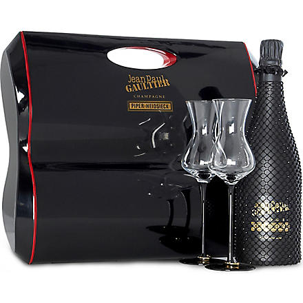PIPER-HEIDSIECK Jean Paul Gaultier limited edition 'French Cancan' gift set 750ml