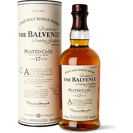 Limited edition peated cask 17 year old 700ml