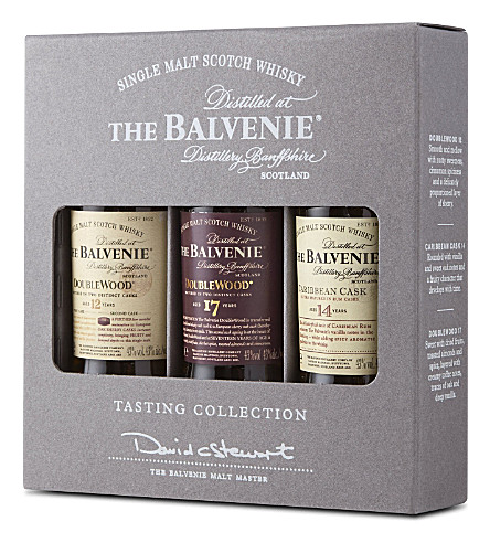 BALVENIE Whisky tasting collection 3x50ml