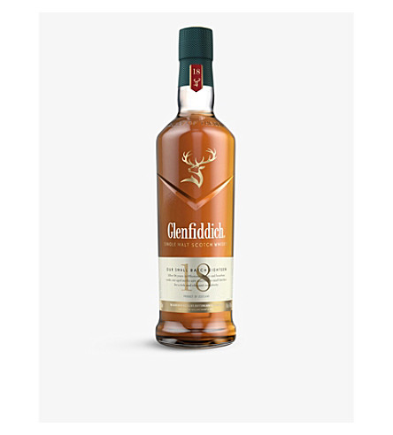 GLENFIDDICH 18-Year-Old single malt whisky 700ml
