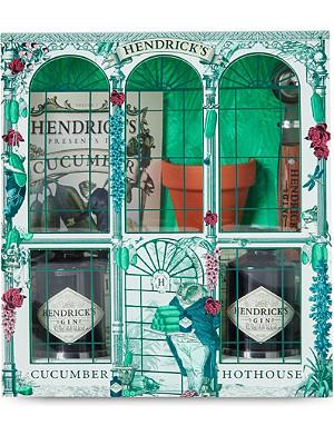 HENDRICKS Hendrick's Hot House gin gift set 2x50ml