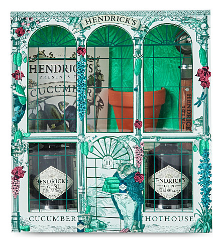 HENDRICKS Hendrick's Hot House gin gift set 2x50ml