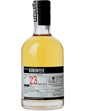 NONE 23 year old single malt scotch whisky 350ml