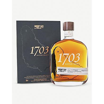 MOUNT GAY 1703 rum 700ml