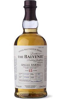 BALVENIE 15 year old single barrel 700ml