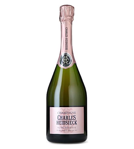 CHARLES HEIDSIECK Charles Heidsieckt rosé reserve 750ml