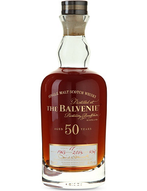 BALVENIE 50 year-old cask whiskey
