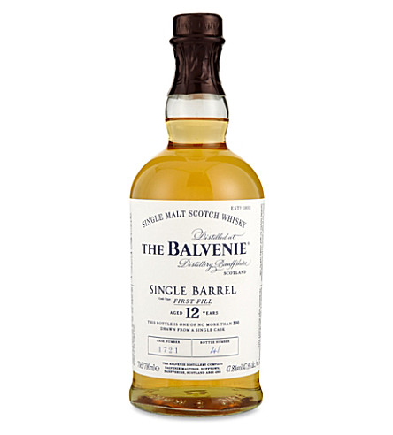 BALVENIE Balvenie 12 year old Single Malt Scotch Whisky 700ml