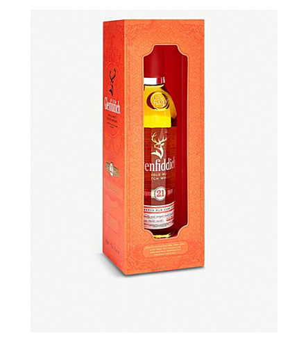 GLENFIDDICH Single malt Scotch whisky 21 year old 200ml