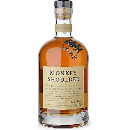 Monkey shoulder monkey shoulder 700ml selfridges com