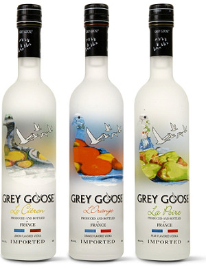 GREY GOOSE Flavoured vodka gift pack 3 x 200ml
