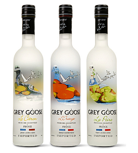 Flavoured vodka gift pack 3 x 200ml