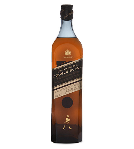 JOHNNIE WALKER Double Black blended Scotch whisky 700ml