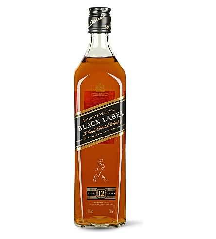 JOHNNIE WALKER Black Label celebration tin 700ml