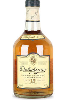 DALWHINNIE 15 yo Highland Single Malt Scotch Whisky 700ml