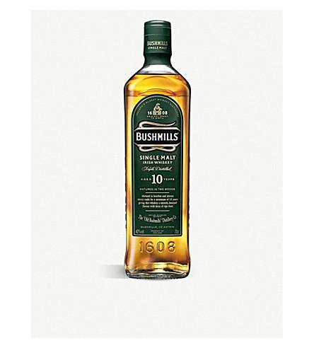 BUSHMILLS 10岁的单麦芽威士忌 giftbox 700毫升