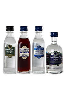 HAYMAN'S Best of British gift set 4 x 50ml