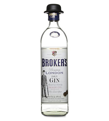 BROKERS伦敦干杜松子酒700毫升
