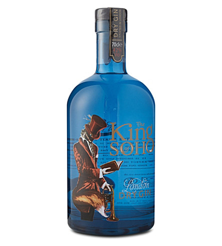 KING OF SOHO London dry gin 700ml