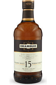 DRAMBUIE 15 year old Drambuie whiskey 700ml